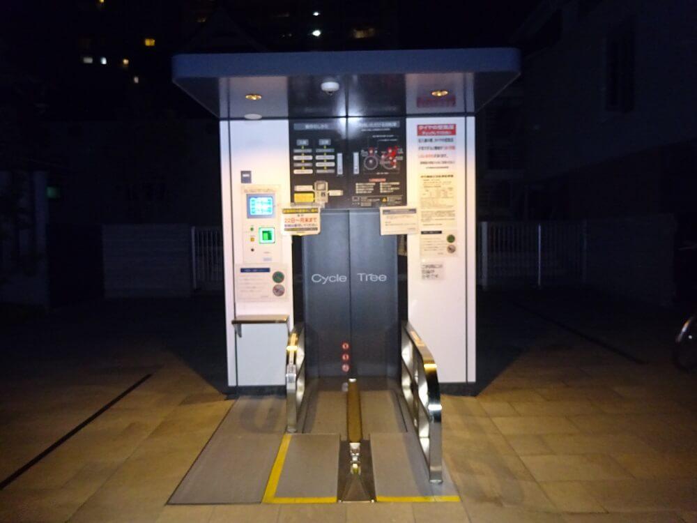 本泉寺機械式駐輪場