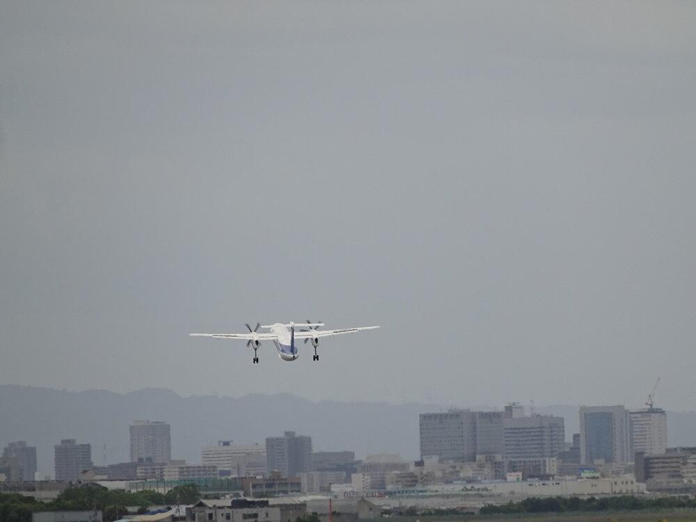 離陸後伊丹空港14運用