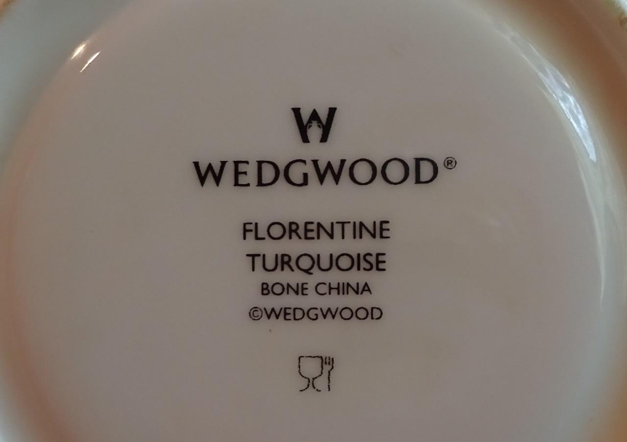ウエッジウッド フロレンティーン ターコイズ
