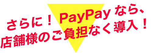 PayPay導入費用0円