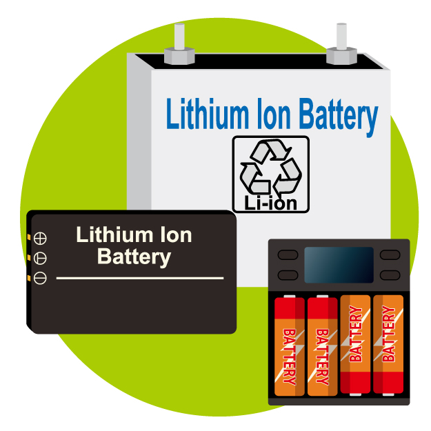 充電式電池やバッテリー